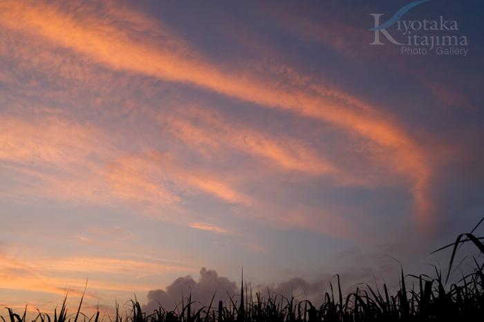 昨日の夕日 in 石垣島