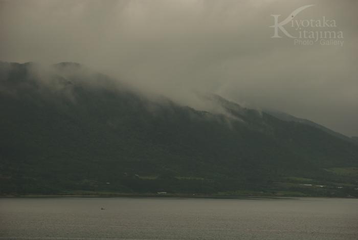 石垣島の梅雨空