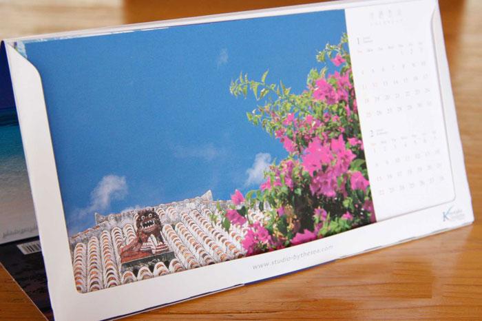 沖縄島旅 卓上カレンダーその2