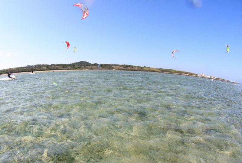 カイトサーフィンツアーin 小浜島