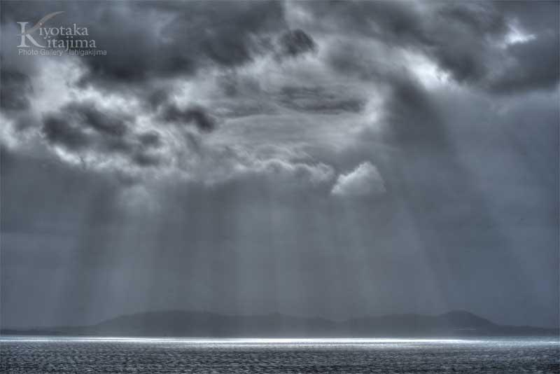 ミーニシと台風