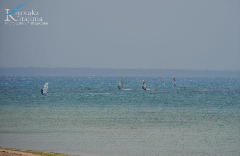 Windsurf paradise KOHAMAJIMA