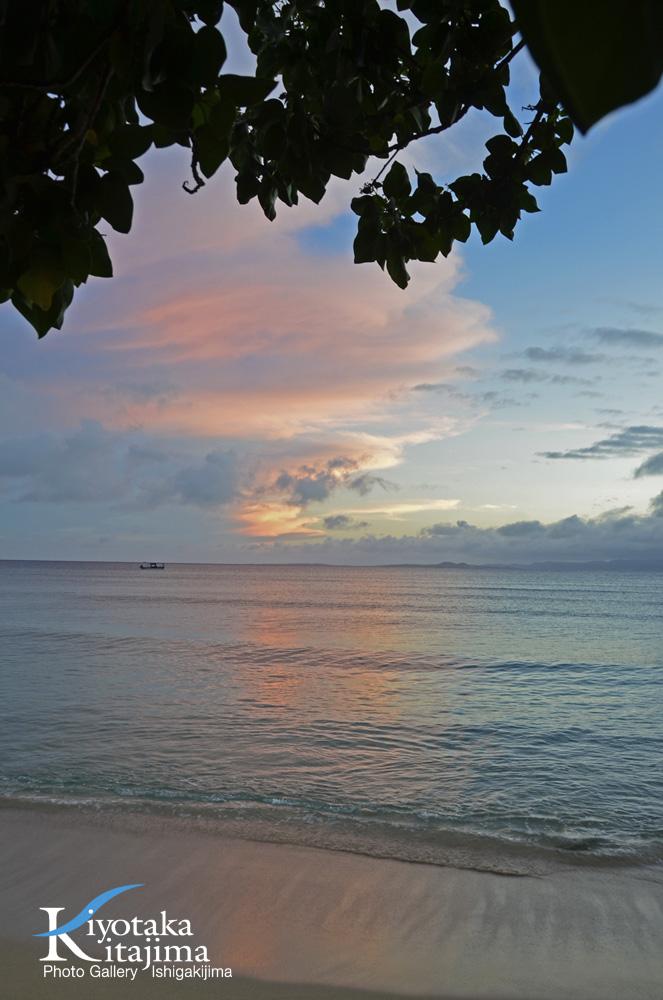 海 写真 夕焼け