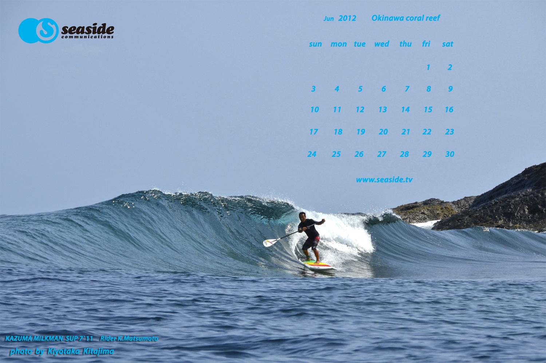 海 写真 サーフィン壁紙 6月