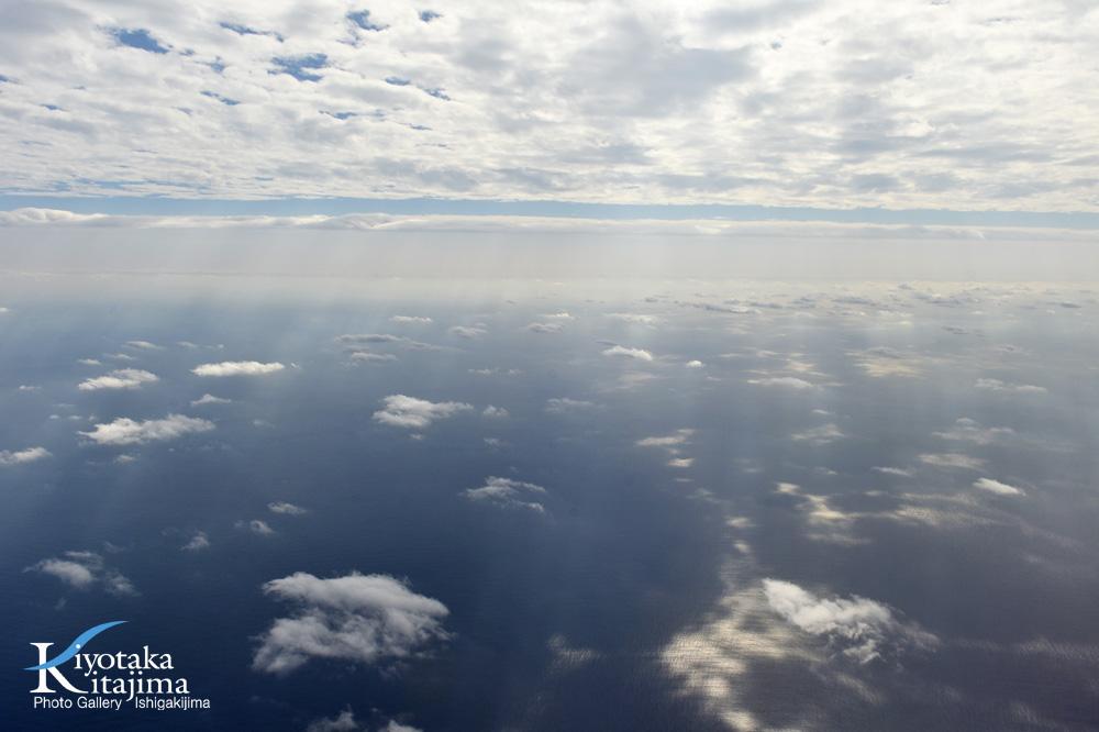 海 写真 元旦の空