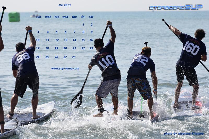 海 写真 2月サーフィン壁紙2