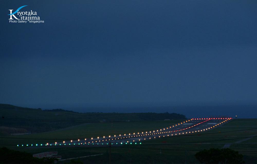 海 写真 島の夜景スポット