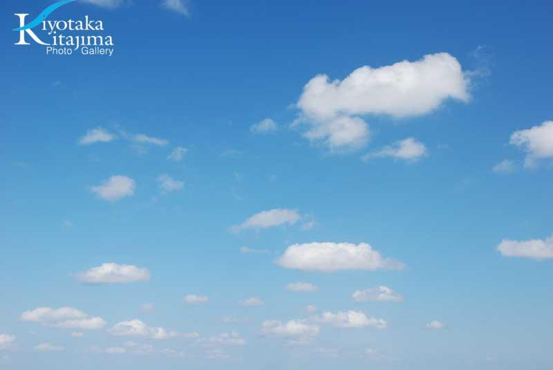 石垣島の冬の空