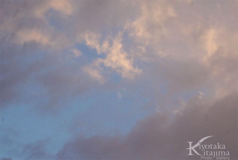 青空と写真