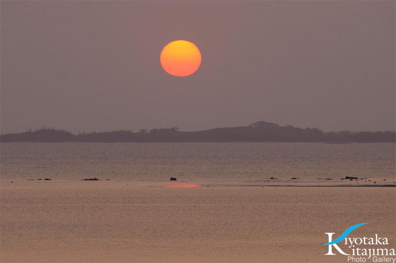 昨日の太陽in石垣島