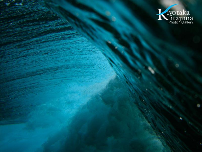 波が作る蒼
