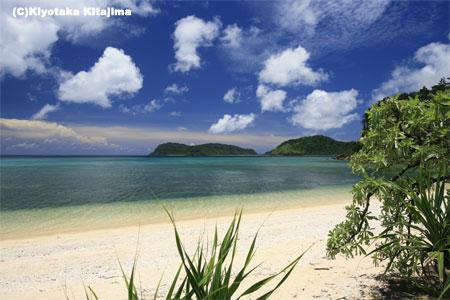 西表島:イダの浜