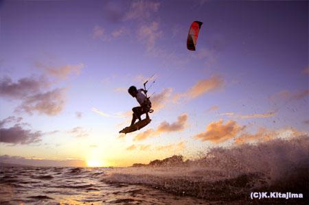 石垣島:サンセットカイト