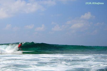 001石垣島:スタンドアップパドルサーフィン