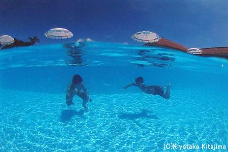002水中写真:夏休み