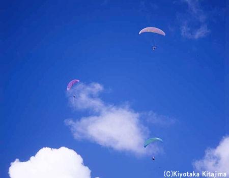 空撮:ブルースカイ