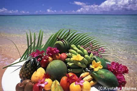 ビーチ:Tropicalfruits