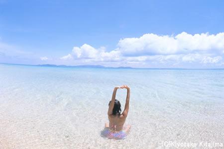 ビーチ:海へ行こう