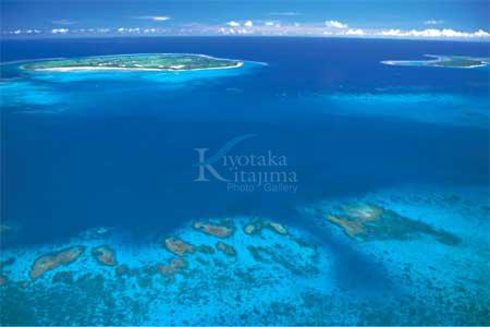 004空撮:黒島と新城島