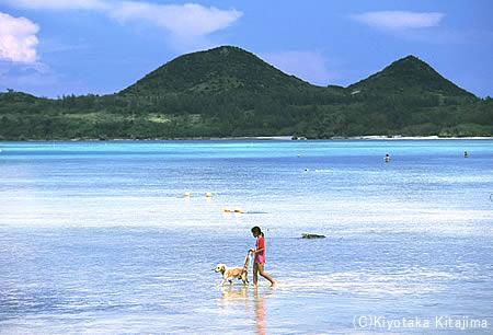 003ビーチ:Take a walk