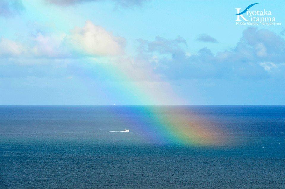 石垣島:虹