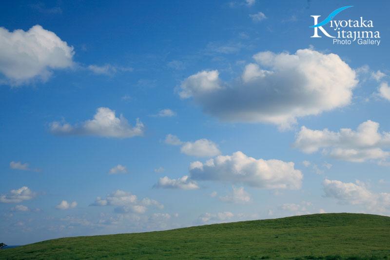 001石垣島:石垣島の空と緑