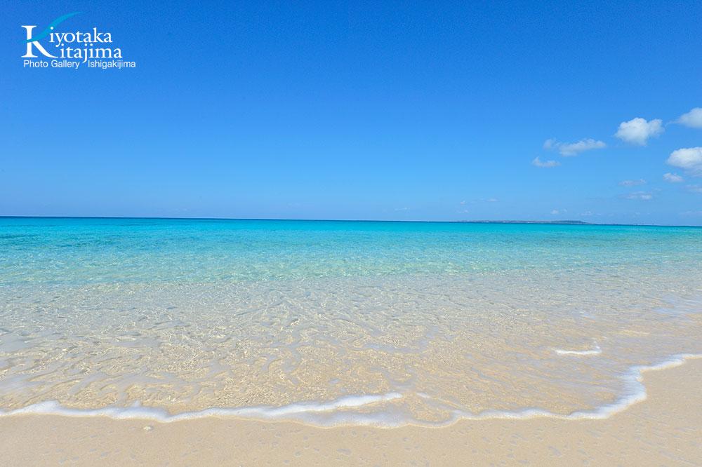 来間島:2月のビーチ