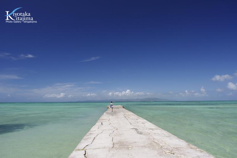 竹富島:西桟橋