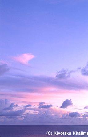 003小浜島:春色の雲