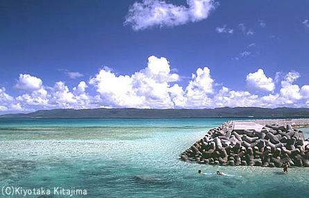 042鳩間島:鳩間の海