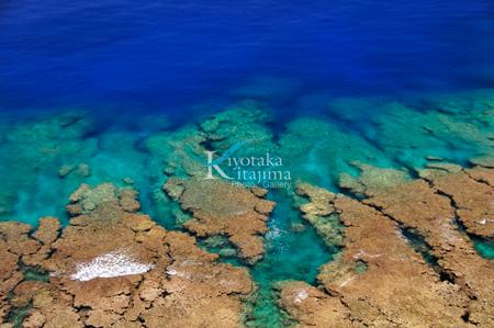 伊江島:珊瑚礁