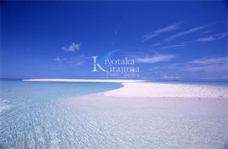 久米島:sand island