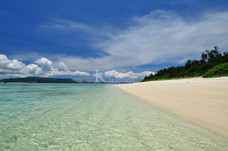 水納島:水納ビーチ