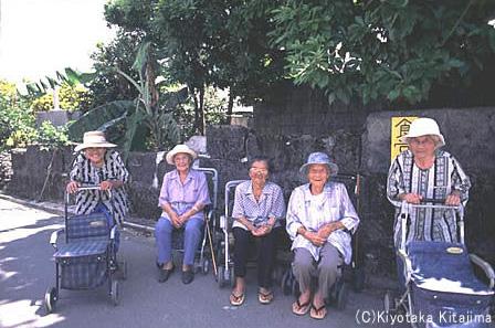 小浜島:オバァ