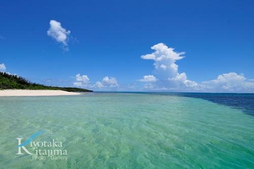 040新城島:下地の海