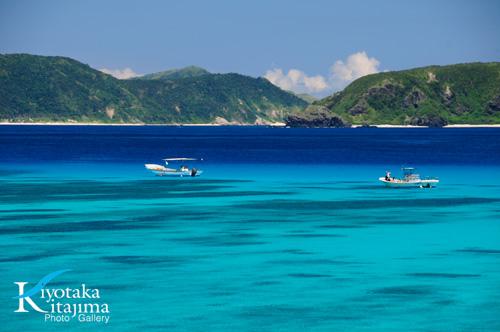 渡嘉敷島:tokashiki blue