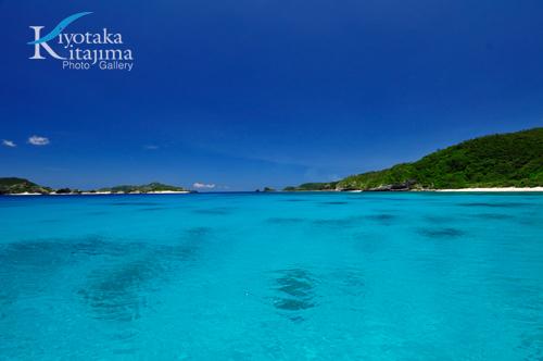 座間味島:Super Blue