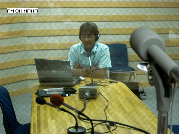 FM沖縄ラジオ出演